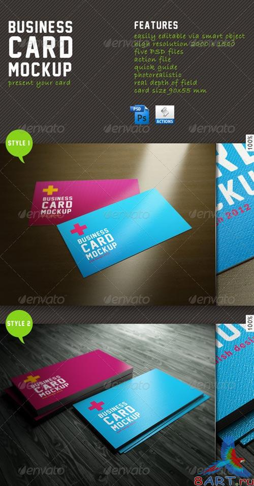 GraphicRiver Business Card Mockup