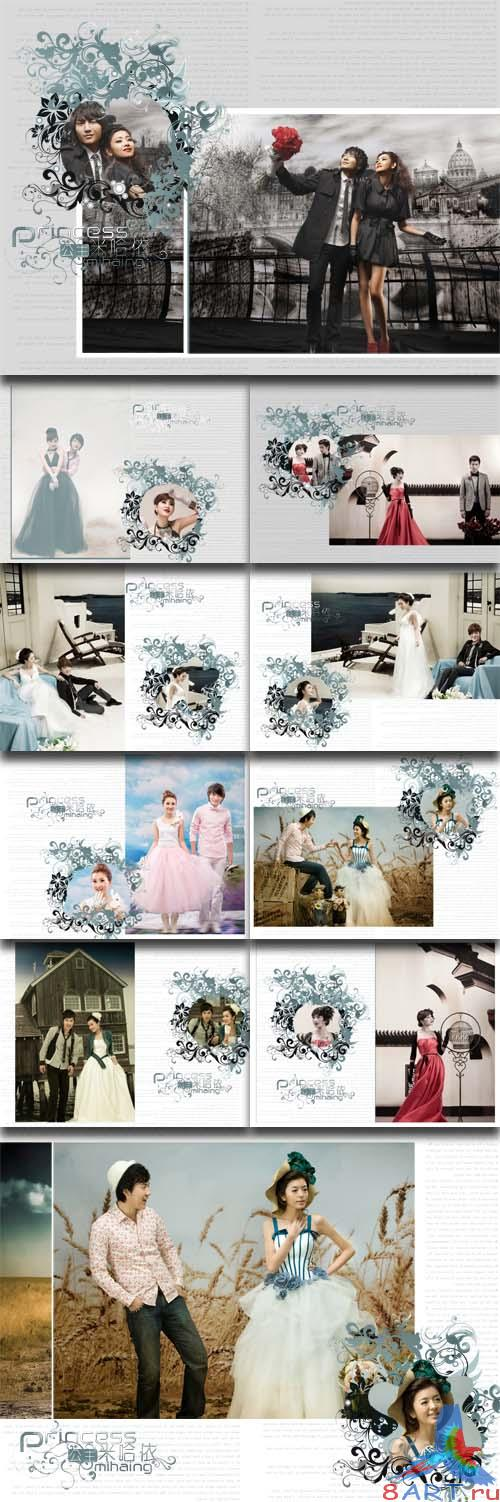 PhotoTemplates - Wedding Collection vol.19 (77535)