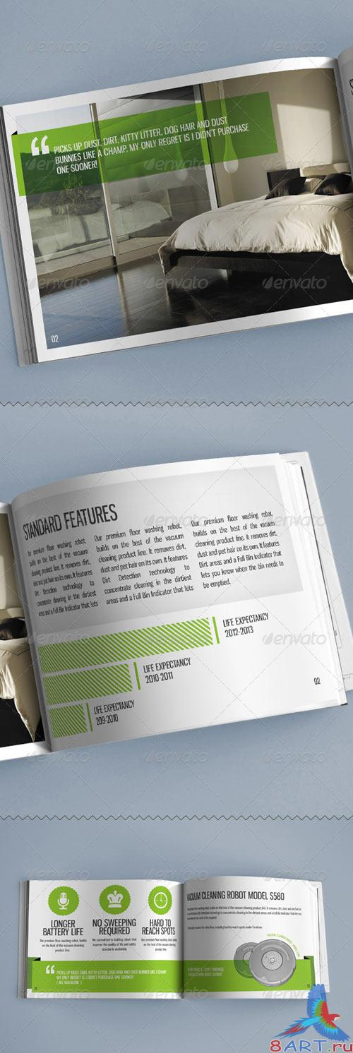 GraphicRiver A4 Wide Magazine Print Ready