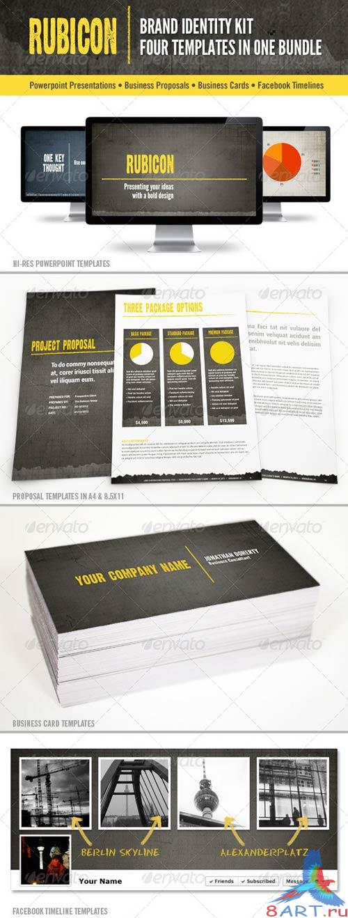 GraphicRiver Rubicon Branded Identity Kit Bundle