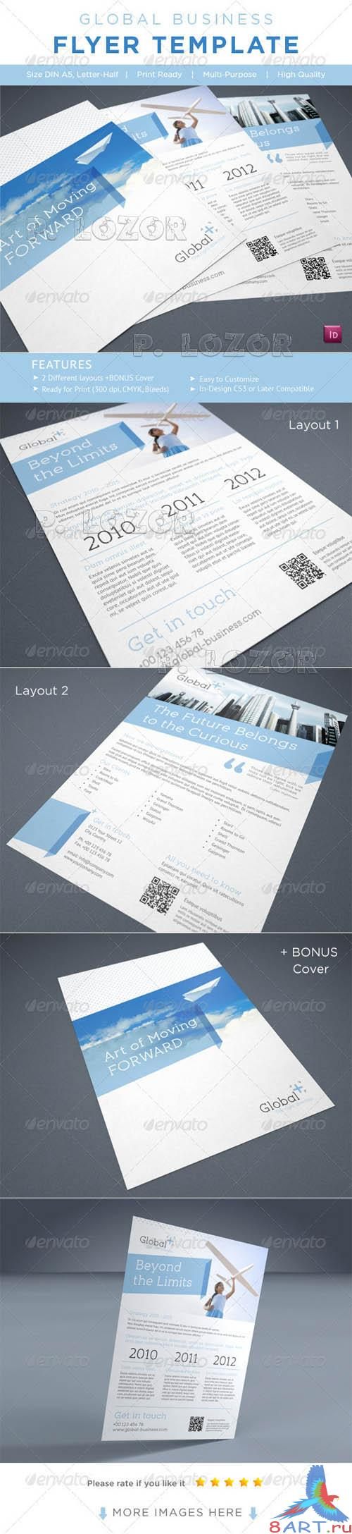 Graphicriver Business Flyer AD Template
