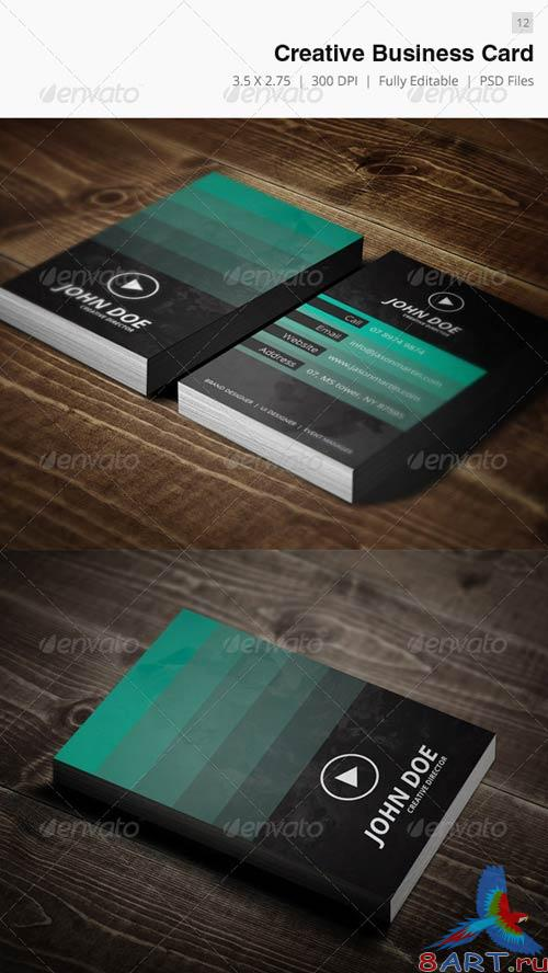 GraphicRiver Creative Business Card - 12