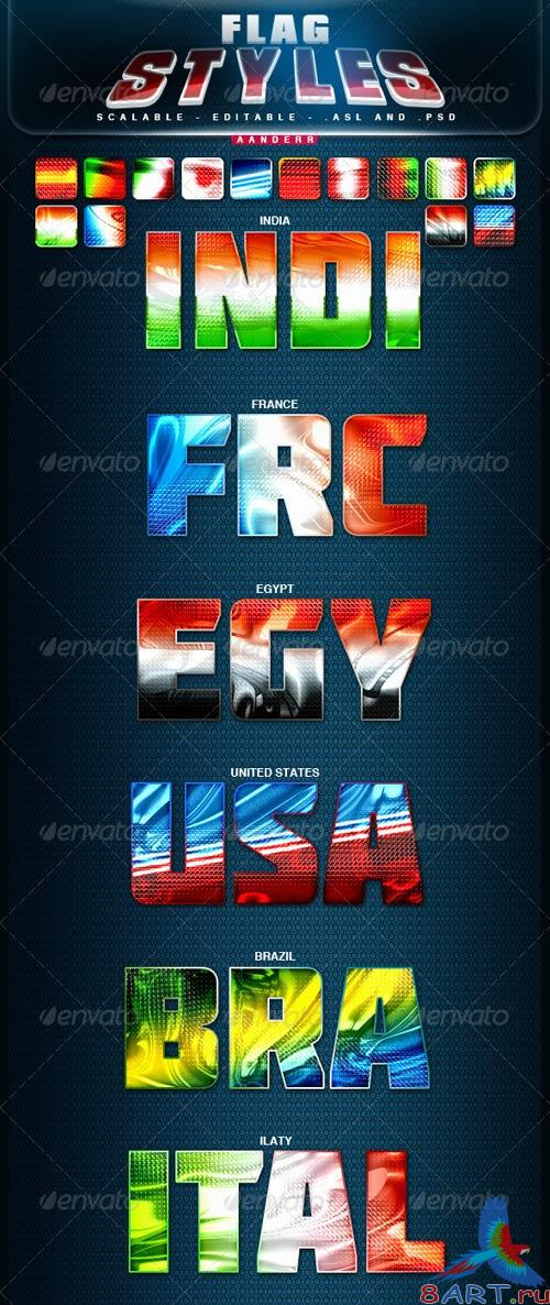 GraphicRiver Flag Styles