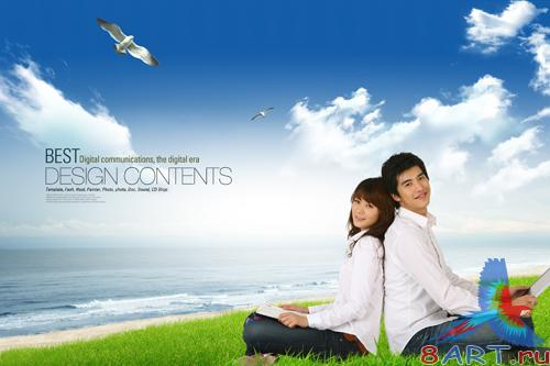 Sources - Walk by the sea