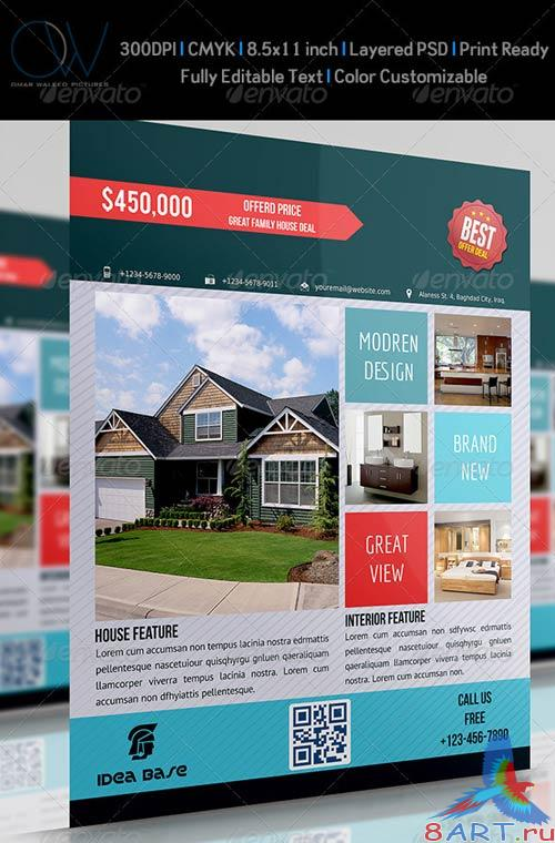 GraphicRiver Real Estate Flyer Vol.2
