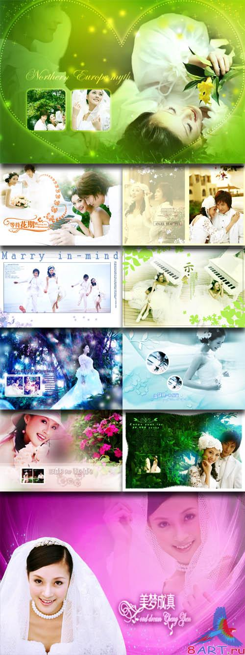 PhotoTemplates - Wedding Collection Vol.15 (77530)