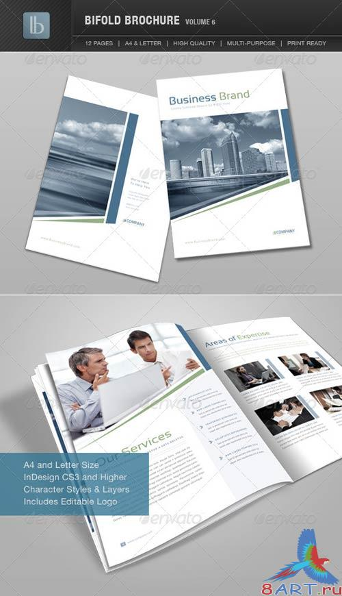 GraphicRiver Bifold Brochure | Volume 6