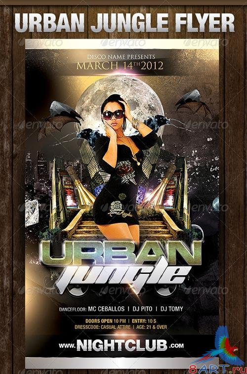 GraphicRiver Urban Jungle Flyer