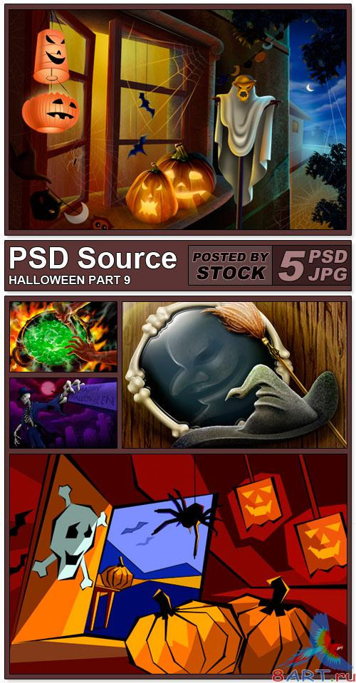PSD Source - Halloween 9