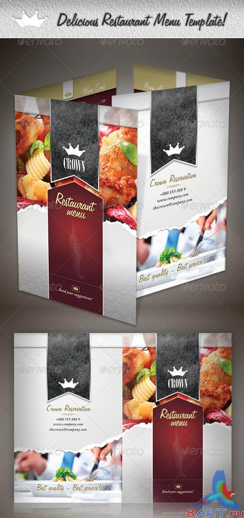 GraphicRiver Delicious Restaurant Menu Template