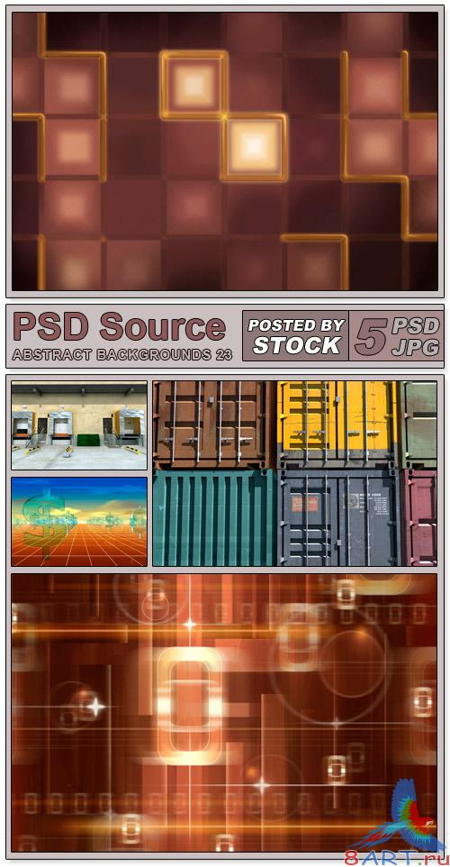 Layered PSD Files - Abstract backgrounds 23