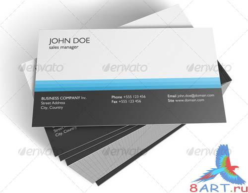 GraphicRiver Company Business Card