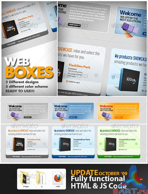 Great Web Boxes - GraphicRiver