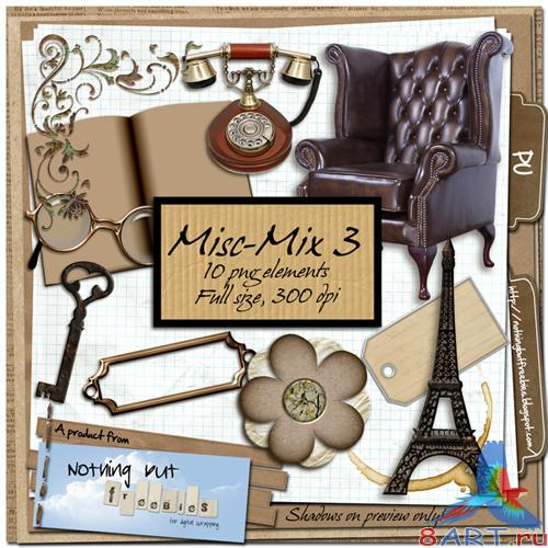 Scrap-kit - Misc-Mix 03
