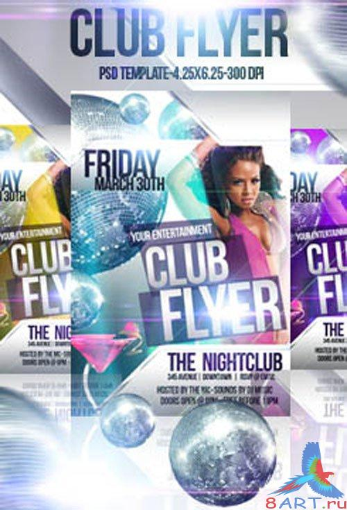 Club Flyer/Poster PSD Templates