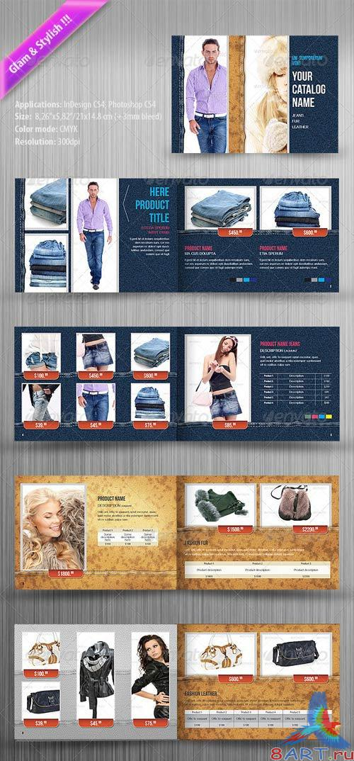 GraphicRiver Clothing Product Catalog