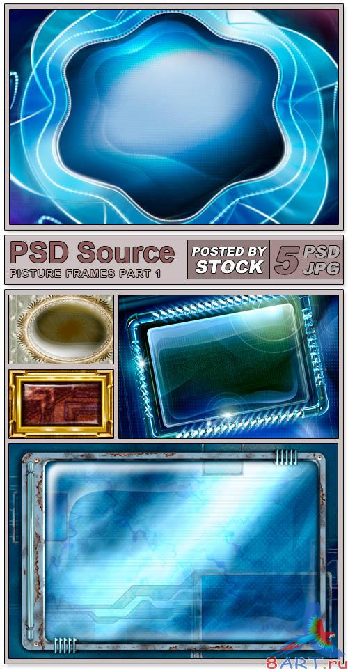 PSD Source - Picture Frames (PART 1)