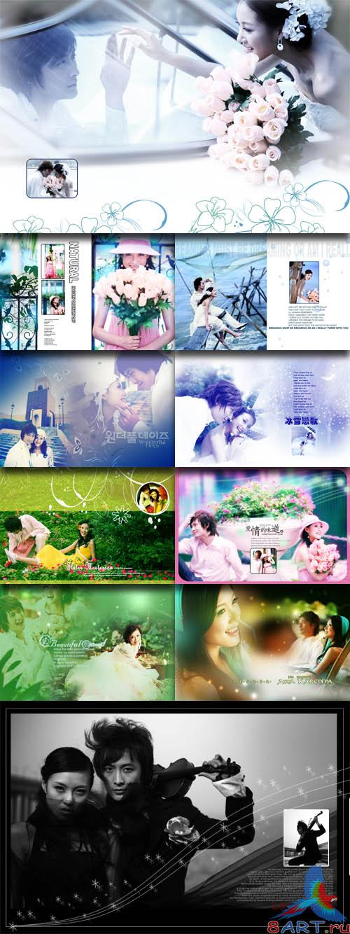 PhotoTemplates - Wedding Collection Vol.9 (77520)