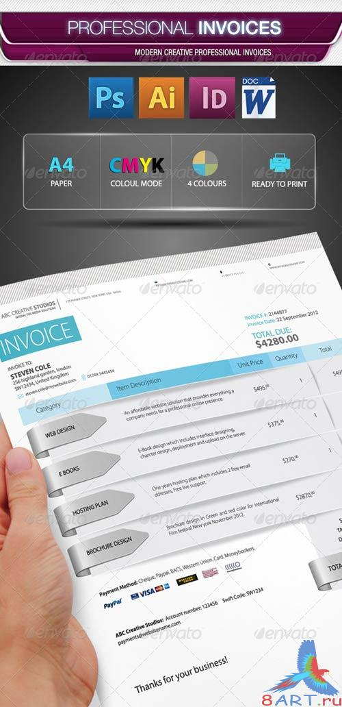 GraphicRiver Professional Invoice Pack