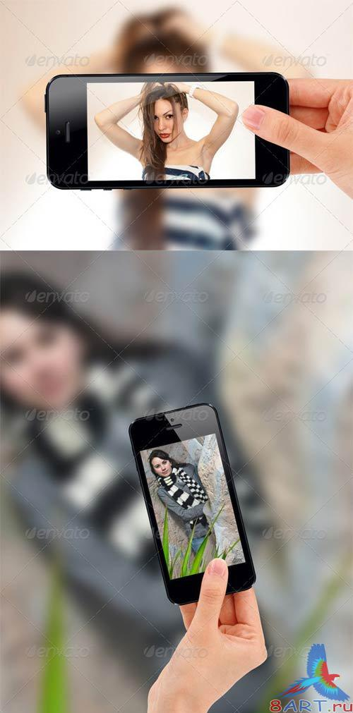 GraphicRiver Mobile Photo Template