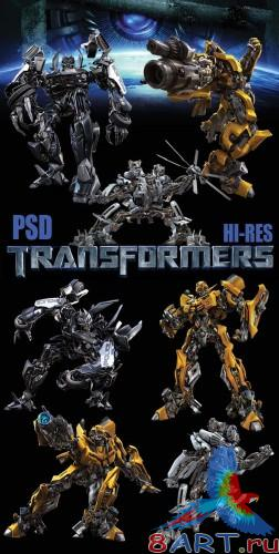 Transformers - Hi-Res PSD Templates