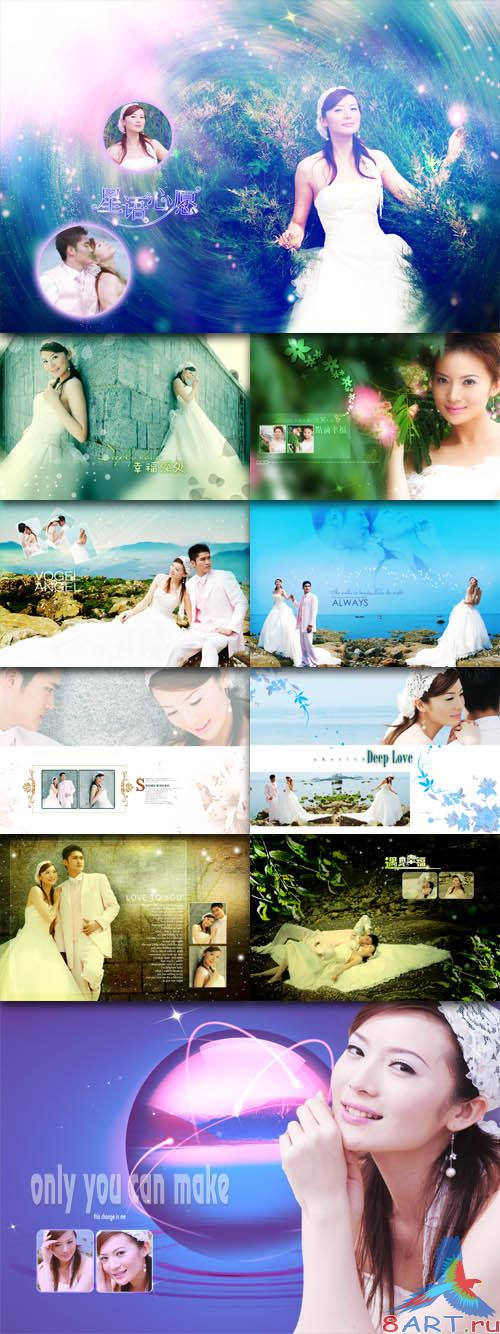 PhotoTemplates - Wedding Collection Vol.8 (77523)