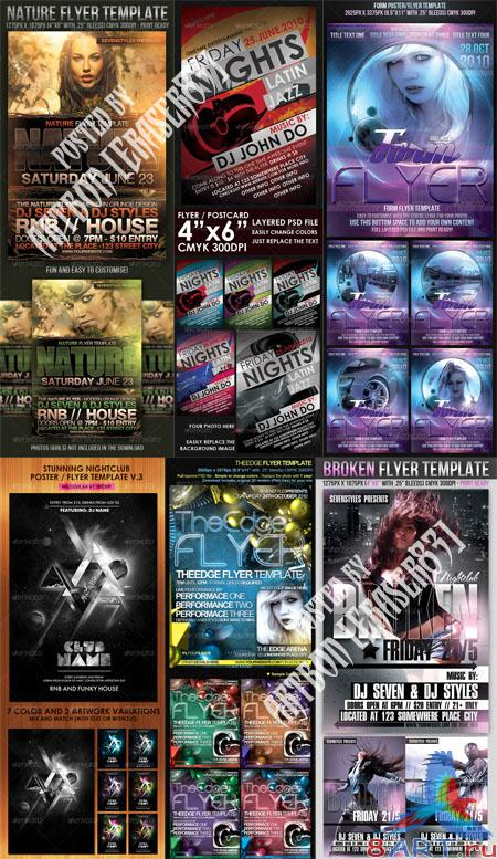 GraphicRiver Flyers Templates Pack 11 - REUPLOAD