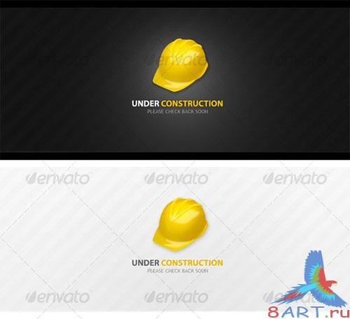 GraphicRiver Under Construction WebPage Template (set of 2)