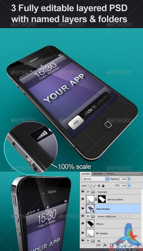 GraphicRiver Smart Phone Mock-up Layered PSDs