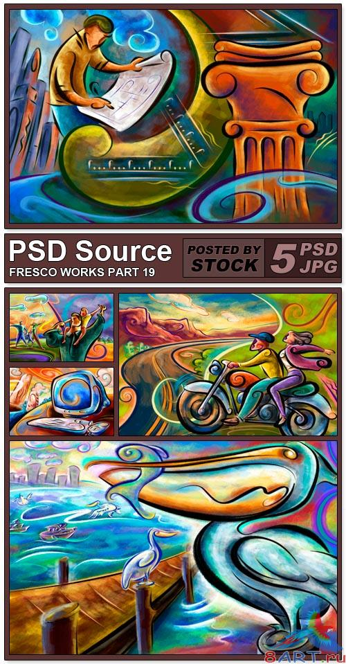 PSD Source - Fresco works 19