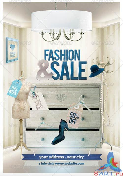 GraphicRiver Fashion & Sale Flyer Template