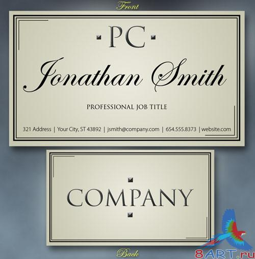 PSD Template - Business Card v4
