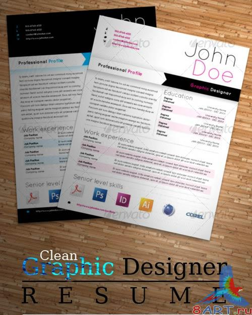 GraphicRiver Graphic Designer Resume