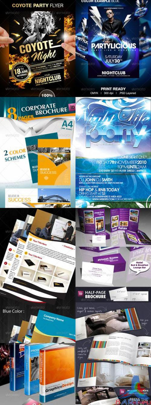 GraphicRiver - Super Collection Design Templates (Pack 1)
