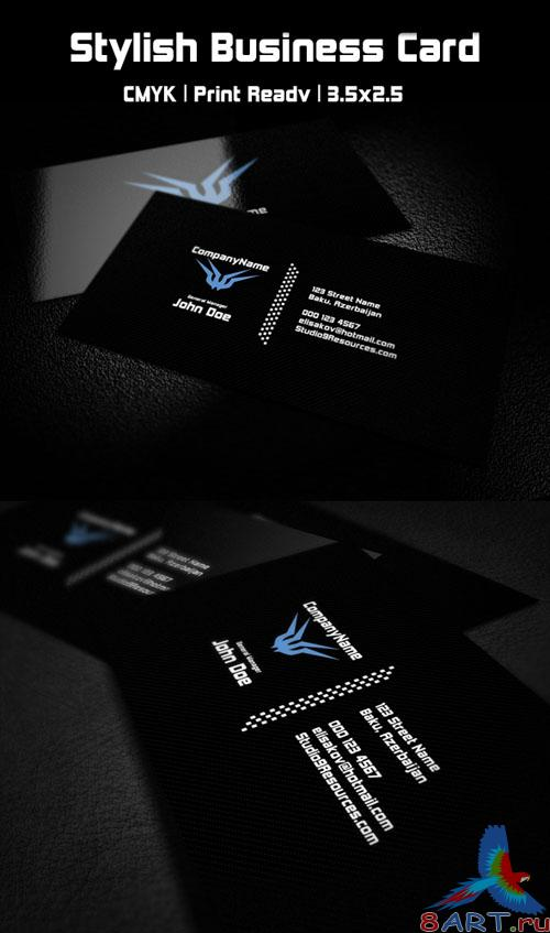 PSD Template - Stylish Business Card