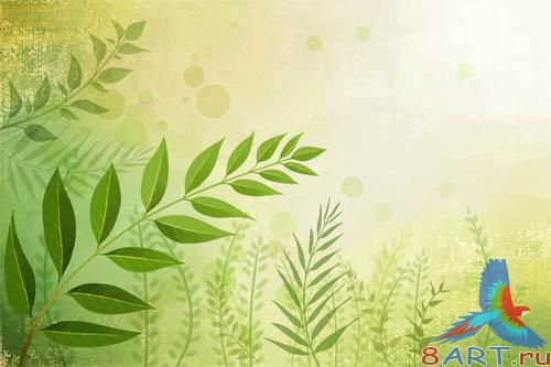 PSD - Bright Nature Template