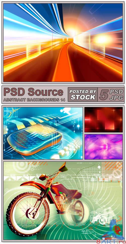 Layered PSD Files - Abstract backgrounds 14