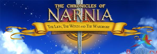 The Chronicles of Narnia Logo - наука равно исходник на формате Photoshop