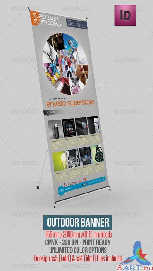 GraphicRiver Outdoor Banner Vol. 8