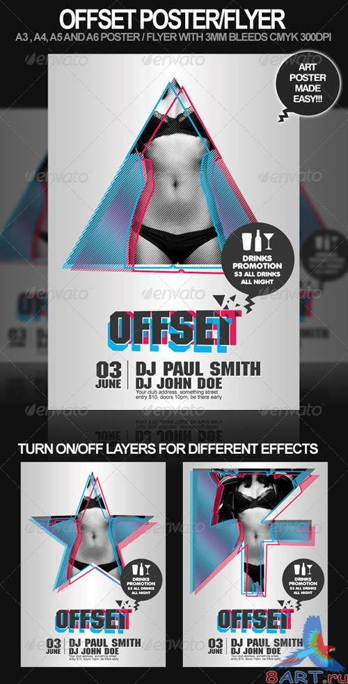 GraphicRiver Offset Poster and Flyer