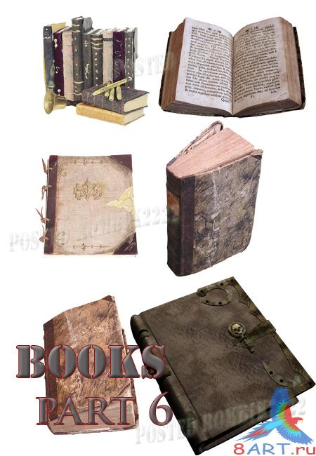Books part 6 / PSD