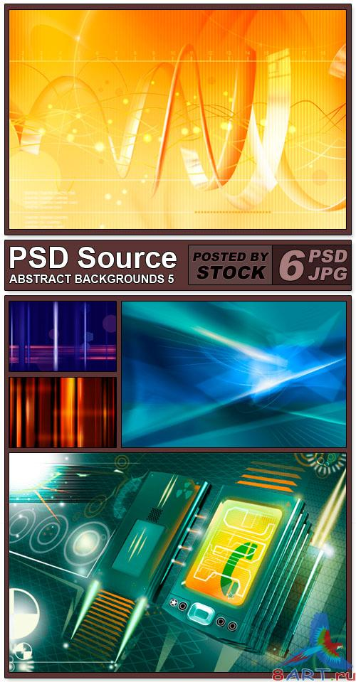 PSD Source - Abstract backgrounds 5