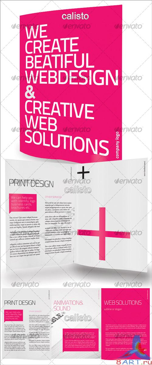 Clean Tri Fold Brochure - GraphicRiver