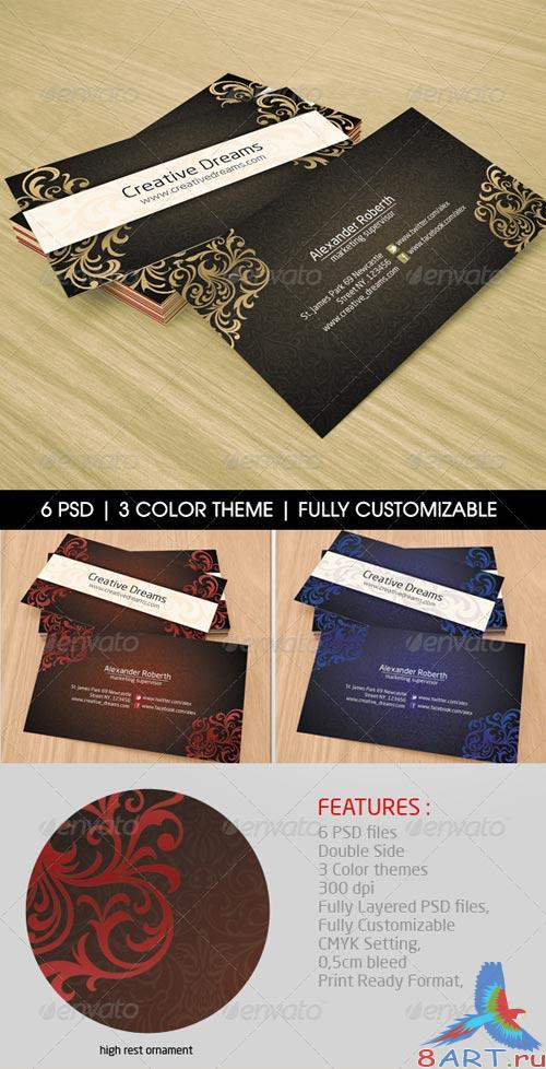 GraphicRiver Corporate Bussines Card