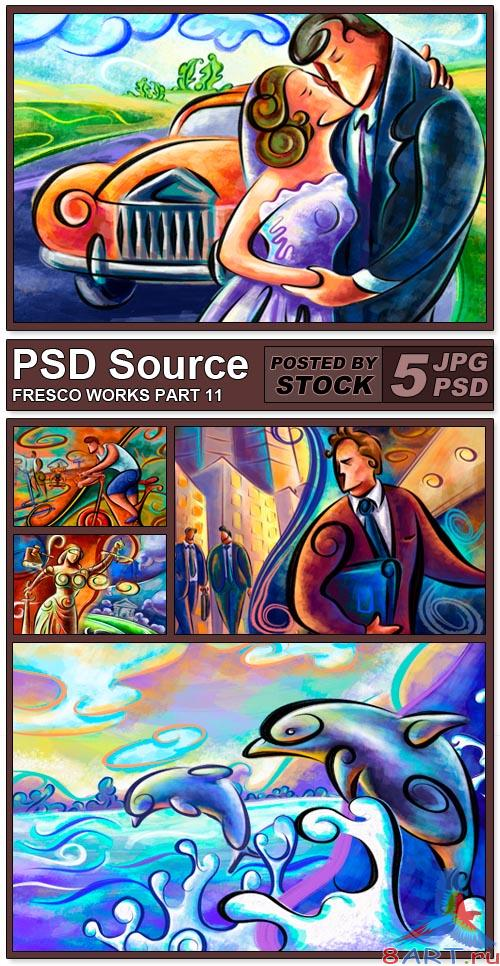 PSD Source - Fresco works 11