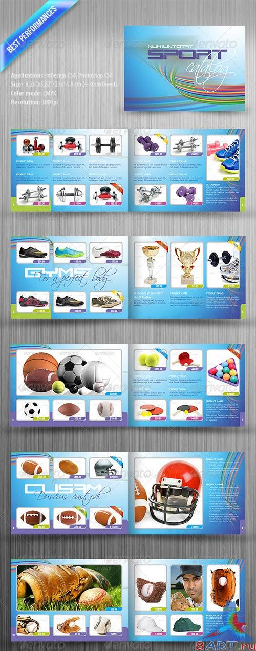 GraphicRiver Sport Catalog