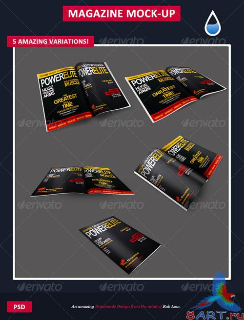 GraphicRiver Magazine Mock-Up's 1