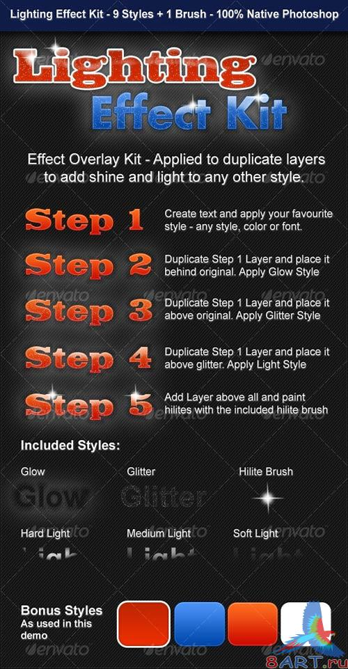GraphicRiver Lighting Effect Kit