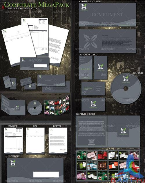 GraphicRiver Corporate ID Mega Pack