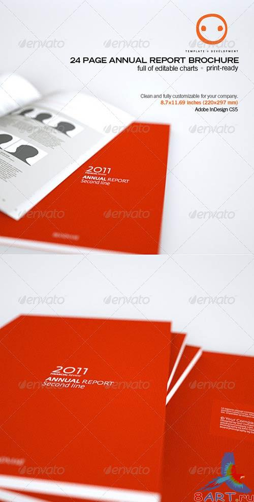 GraphicRiver 24 Page Annual Report Brochure
